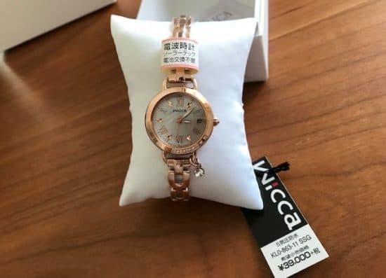 wiccaウィッカの腕時計