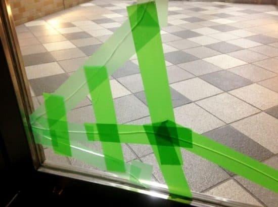 熱割れ 窓ガラス